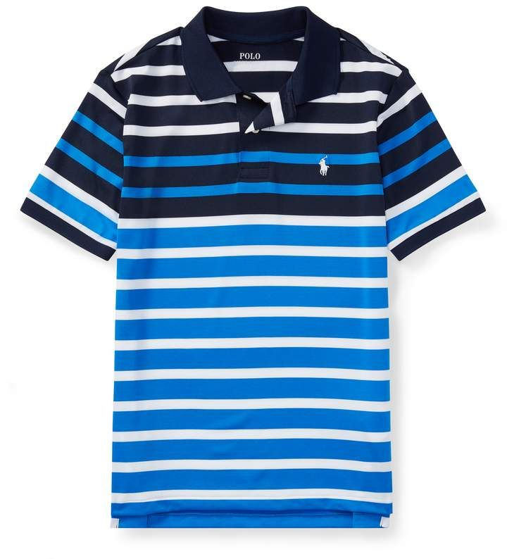 1ed8b01898 Striped Performance Lisle Polo #polyester#elastane#class | fashion ...
