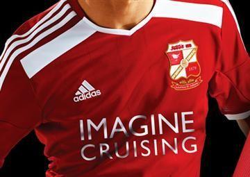 Swindon Town FC 2014/15 adidas Home Kit