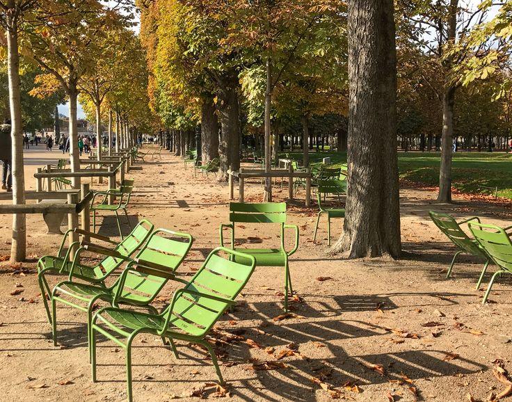 Autumn in Paris - Luxembourg garden