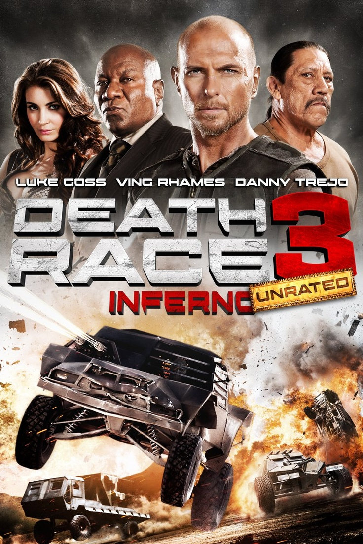 Death Race 3: Inferno - 7/10 - Pretty much what I expected. Interesting ending.