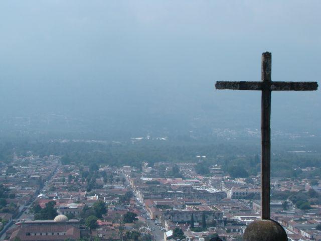 El Cerro de la Cruz. Antigua Guatemala.