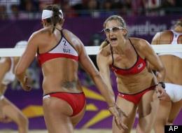 8/8/12 - Kerri Walsh Jennings and Misty May-Treanor win the gold. Happy retirement Misty.