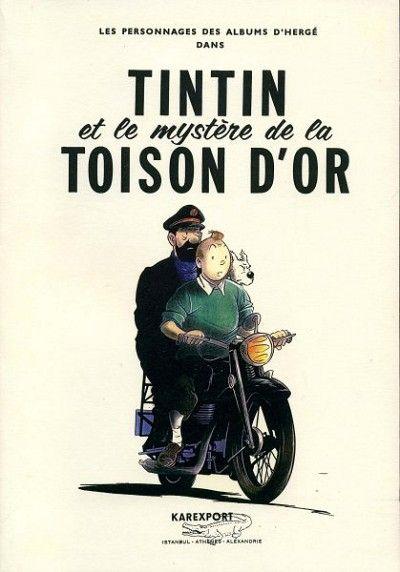 Tintin - Pastiches, parodies & pirates -25- Tintin et le mystère de la toison d'or