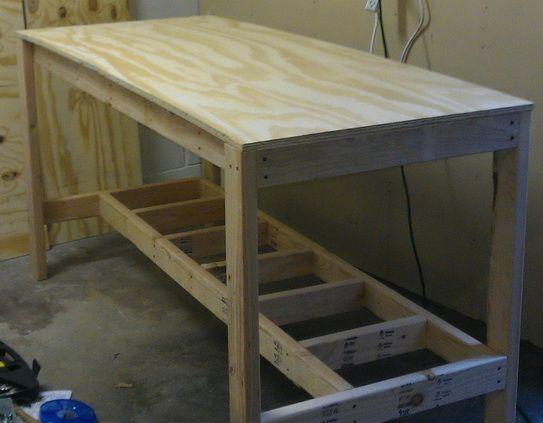workbench on pinterest workbench ideas wood work bench ideas and