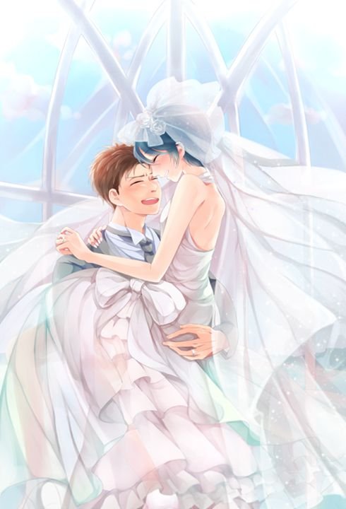 Kashima and Hori's Wedding