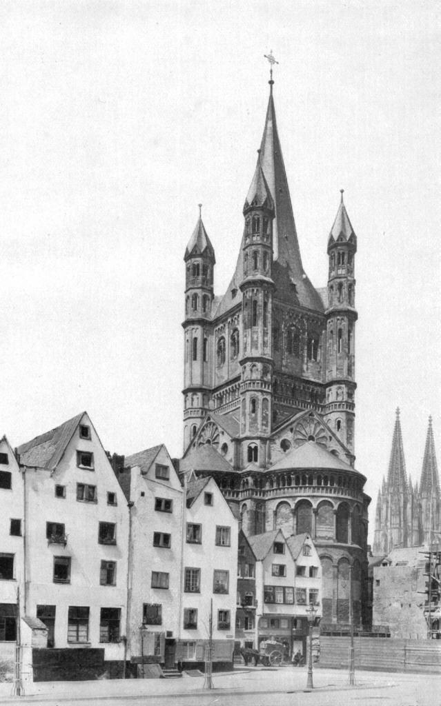 Cologne Gross St Martin 1925 - Groß St. Martin – Wikipedia