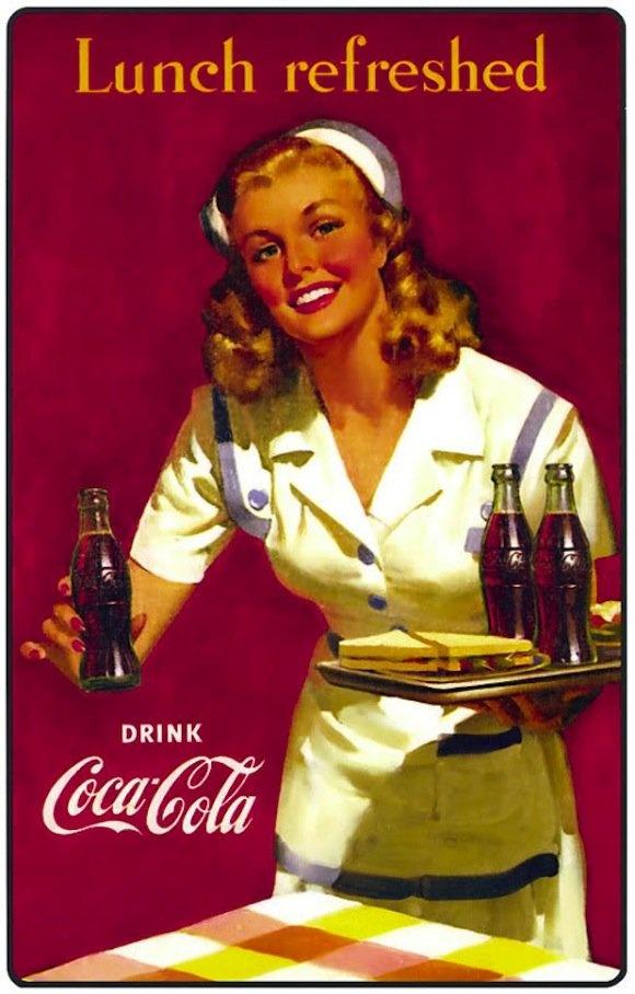 Always coca cola!
