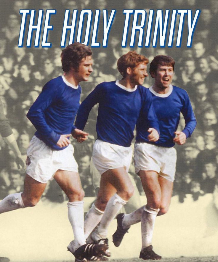 EVERTON - THE HOLY TRINITY - ALAN BALL, HOWARD KENDALL AND COLIN HARVEY