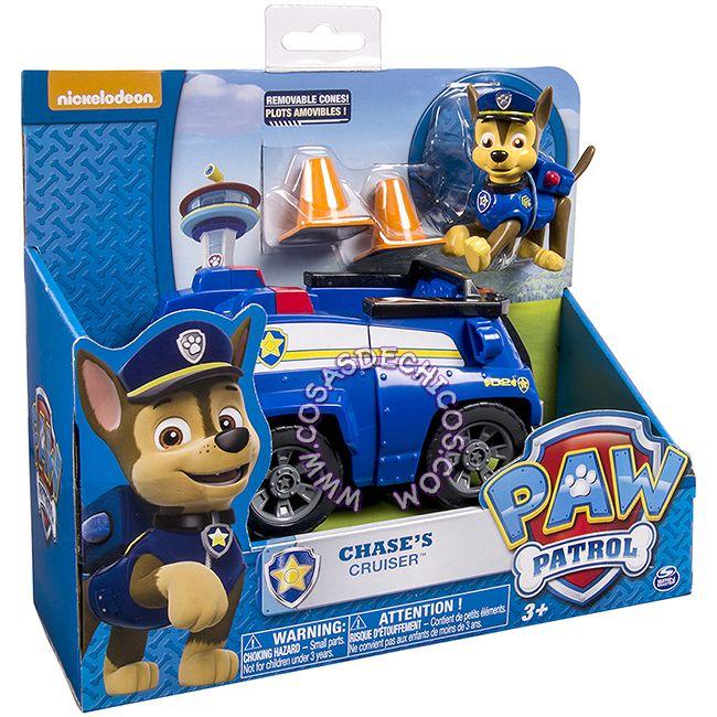 #PawPatrol #Figura con #Vehiculo Grande #Chase #Figure #PatrullaCanina #NickJr #Nickelodeon #Original #CosasDeChicos #Dogs #Perros #Toys #Kids #PoliceDog #PerroPolicia #Truck