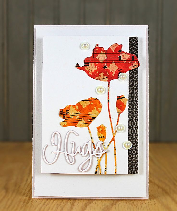 Studio Sessions: Gelli Plate Technique 2, Project Reveal: Jill Foster makes a beautiful card from her Gelli print!