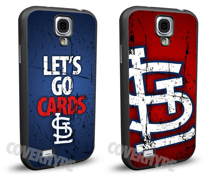 St. Louis Cardinals Cell Phone Hard Case TWO PACK for Samsung Galaxy S5, Samsung Galaxy S4 or Samsung Galaxy S4 Mini