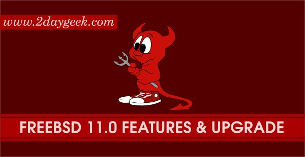 FreeBSD 11.0 has been released today after bit delay due to several last-minute security bug/issues being discovered