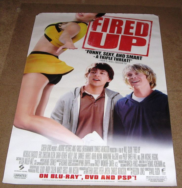 Fired up movie poster