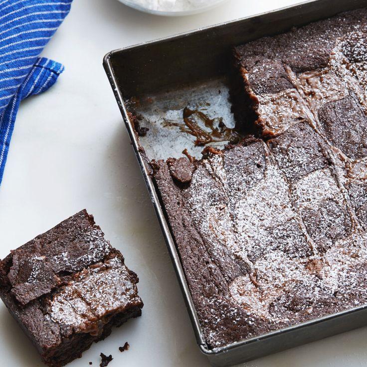 Caramel Brownies By Ree Drummond