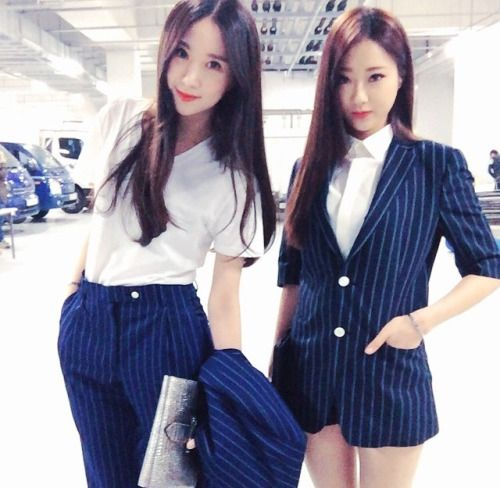 手机壳定制musique iv Kyungri and Euaerin  Nine Muses