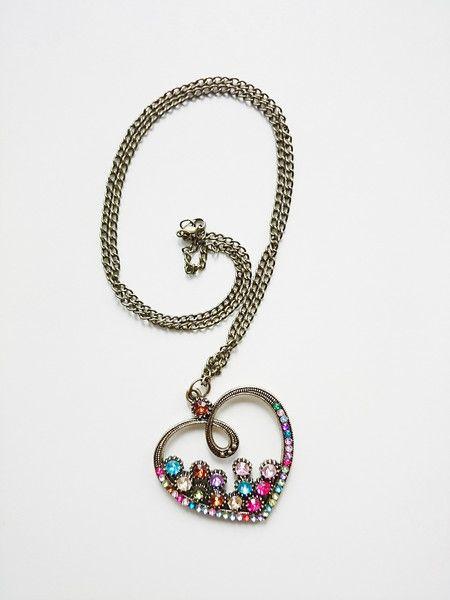 Schmuck - Halskette-Herz - ein Designerstück von atelier-house-decor bei DaWanda