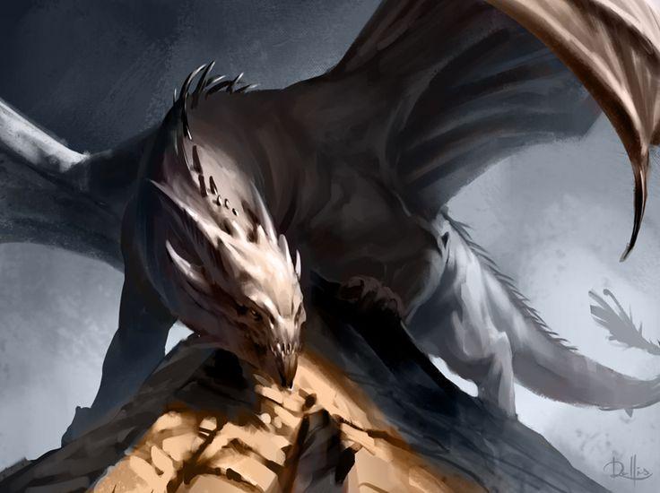 Dragon by ChrisRallis on DeviantArt