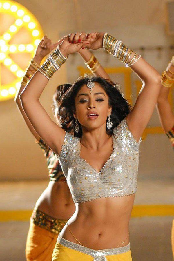 Shriya Saran Hot Navel Stills Pics Images Photos From Nuvva Nena Movie