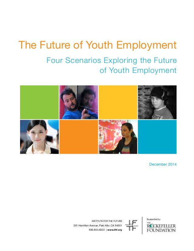The Future of Youth Employment