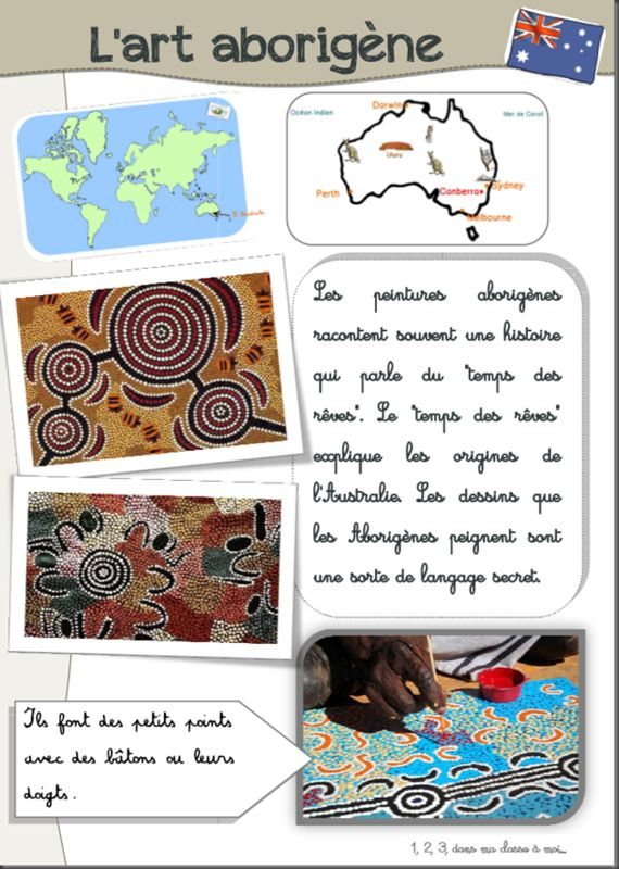 Mon Tour du monde : l'Australie – 1, 2, 3, dans ma classe à moi…