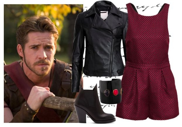 going out look inspired by Robin Hood from Once Upon a Time @thegirlbackstage