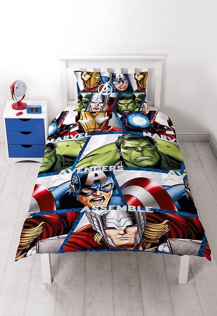 Marvel Avengers Shield Bettwasche Set Mikrofaser Diese Avengers