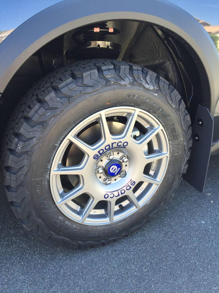 Lifted Subaru Impreza >> New Crosstrek with Sparco Terra and BF Goodrich All ...