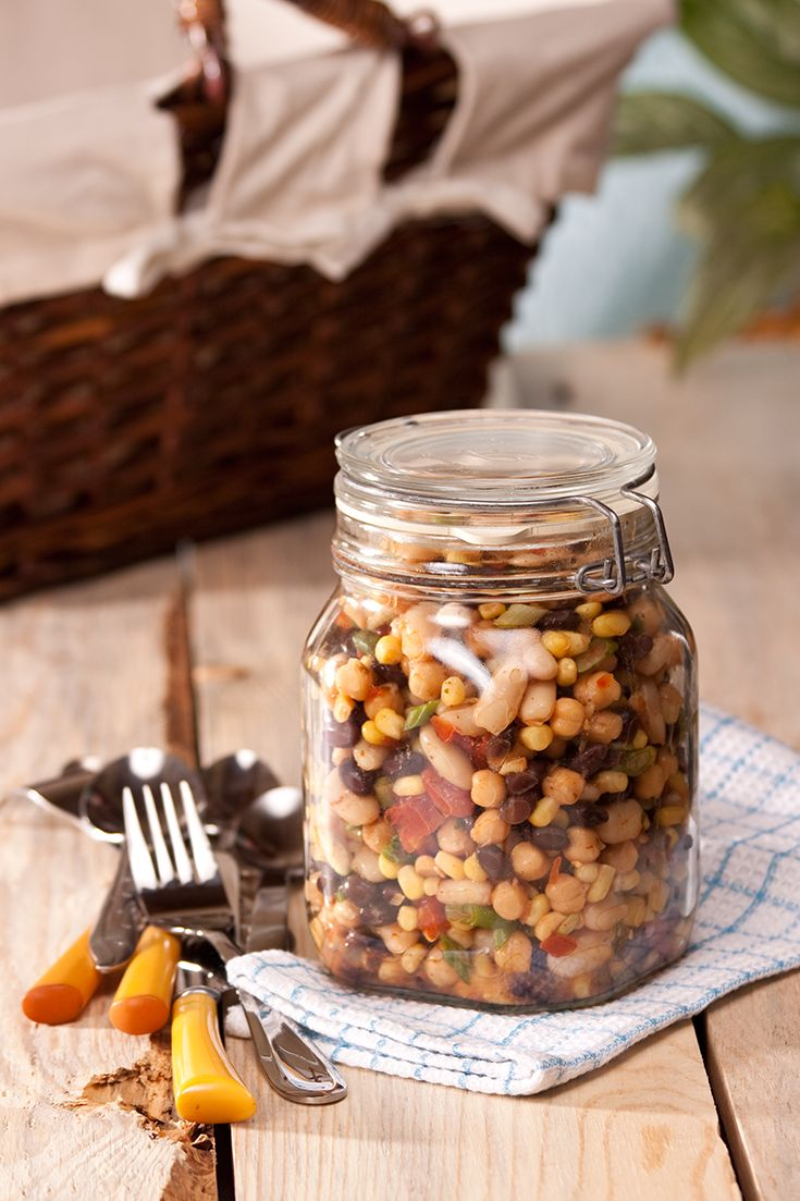 #Epicure 3 Bean Salad #meatless #vegetarian