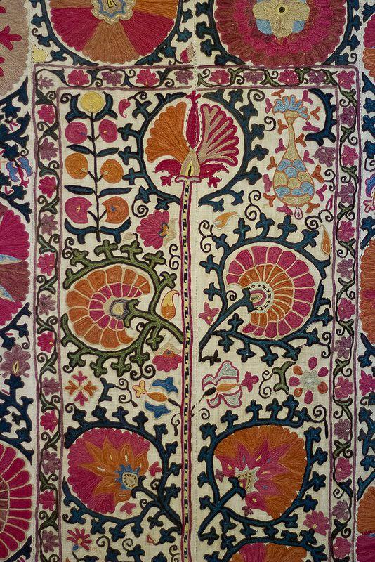 Bukhara Suzani with Pomegranate Design