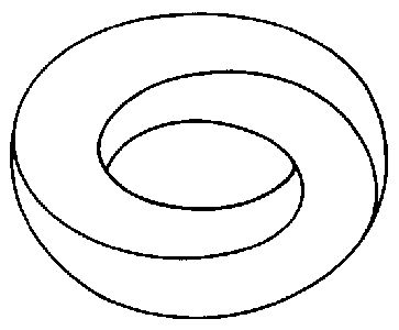 Torus (as part of our tatt: eternity, mobius strip, toroid,