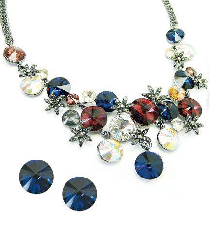 Set de bijuterii Imperial cu Swarovski Elements COD S4P14