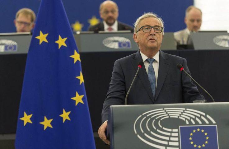 Estado de la Unión 2016: El discurso de Juncker en breve #SOTEU  #Euroopanunioni #Brexit #Bryssel #Eurooppalainen #EuropeanUnion #Luxembourg #Luksemburg #JeanClaudeJuncker #JCVD #JeanClaudeVanDamme #eBay #VHS #PAL #Rysare #Kauhu #Politiikka #Femen #Magyar #Espanja #Eesti #Itämeri #Östersjön #MEP #LuxemburgerWort #EuropeanBankingAuthority #RTL #YLE #DerSpiegel #Guylian #Belgianchocolates #Suklaa