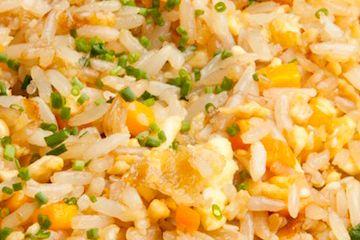 Receita Dedo de Moça: Arroz frito do restaurante Benihana