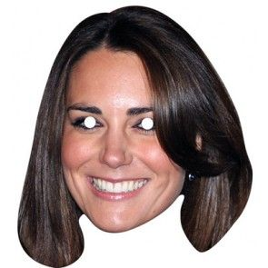 Kate Middleton Celebrity Mask