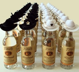 Bachelorette Party Favors - Toasted Marshmallow Vodka