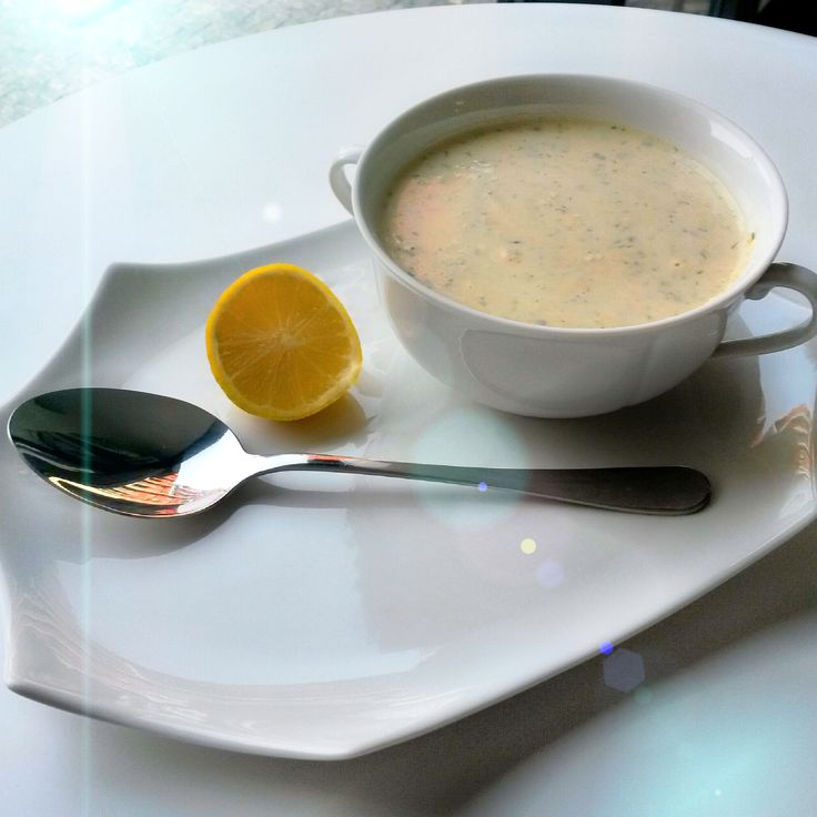 Cizrnová polévka.... Chickpea soup...