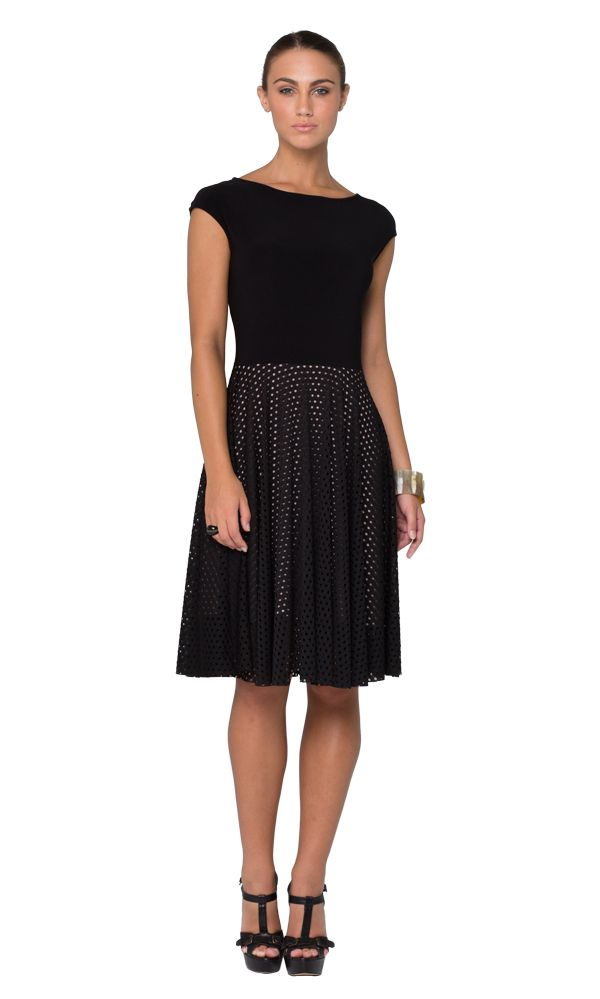 Black Swan dress in black. The Leina Broughton Black Swan dress blends classic chic with modern edge. $225 AUD