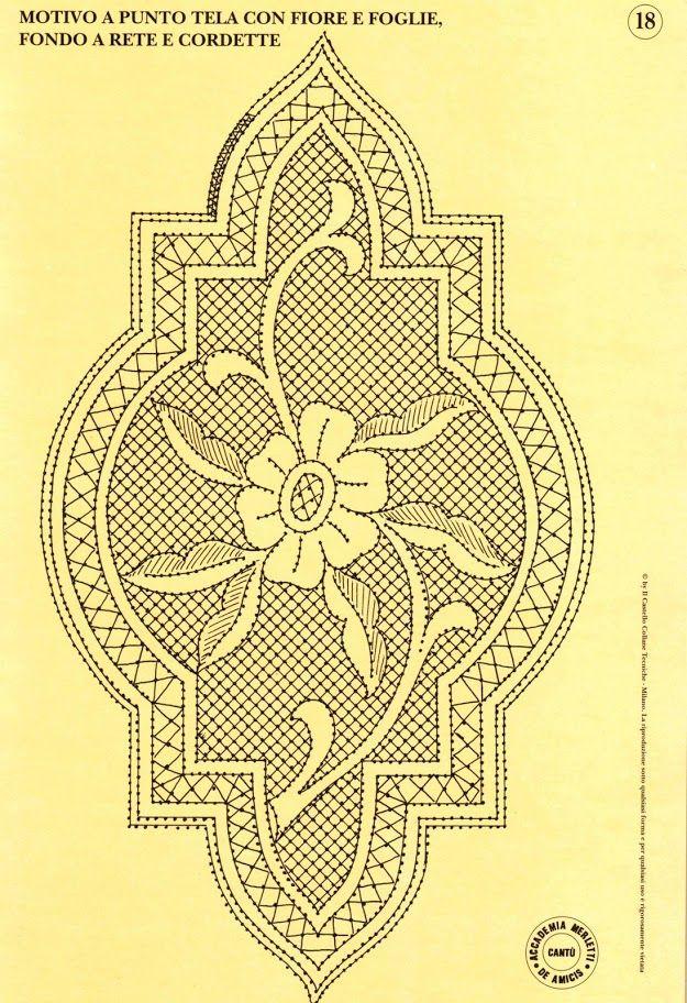 34 disegni inediti 24 cartoni x pizzo di cantu 2 - Blancaflor1 - Álbumes web de Picasa