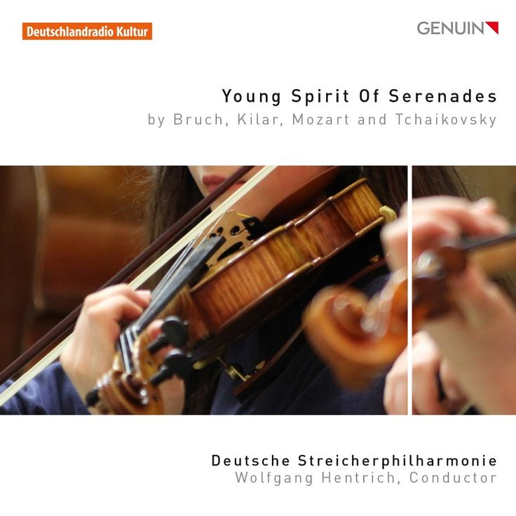 Wolfgang Hentrich - Young Spirits of Serenades: By Bruch, Kilar, Mozart and Tchaikovsky (CD)