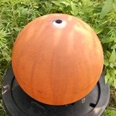 Outdoor Decor :: Water Features :: Corten Steel Ball Water Feature Small -
