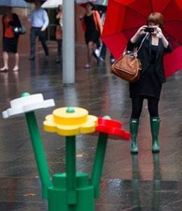 festival de LegoJungles Transformers, Martin Places, Lego Fun, De Lego, Urban Jungles, Lego Forests, Sydney Urban, Ads Lego, Lego Flower