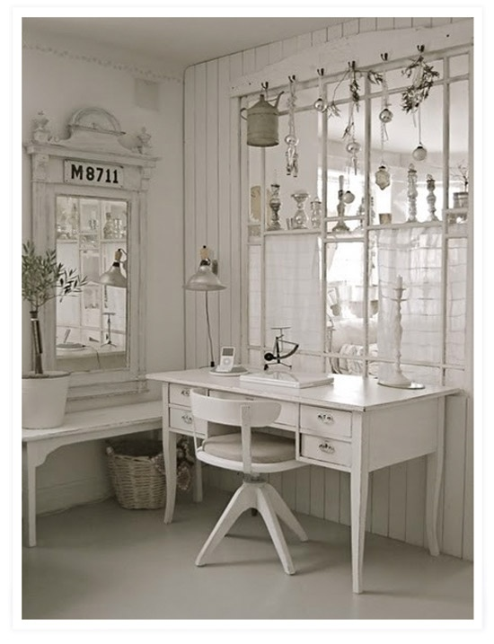 17 Best Images About Shabby Office Space On Pinterest