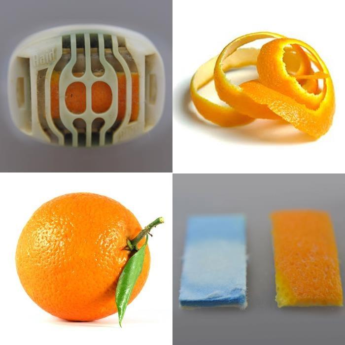 Si te gusta aromatizar tu hogar y te gusta usar productos naturales, este consejo es para ti. Utiliza un aromatizante de pared común pero en lugar de usar la barrita que trae, ponle una cáscara de naranja del mismo tamaño. El aroma será fresco y muy natural. Cámbiala cada tercer día y tu casa siempre tendrá un excelente aroma.