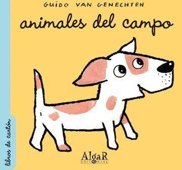 Animales del campo (Libros de Cartón): Amazon.es: Guido Van Genechten: Libros