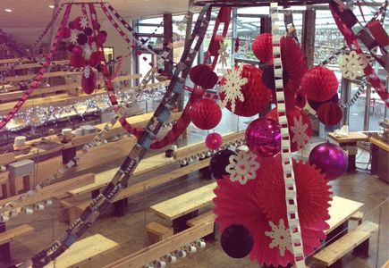 Decorative paper chains