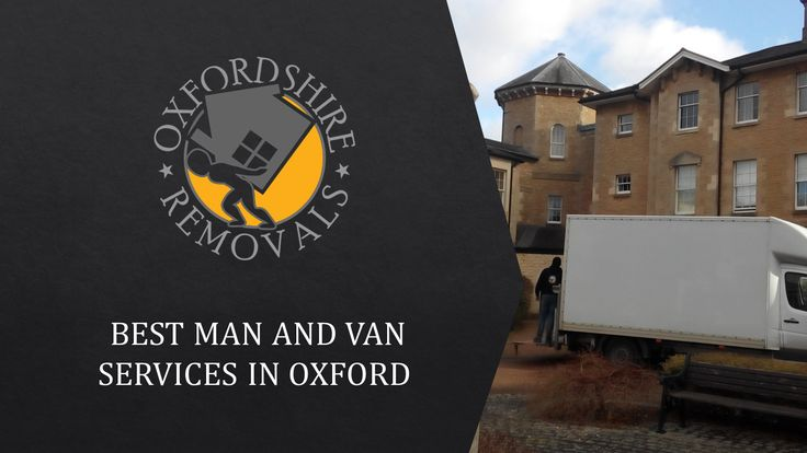 Best Man and Van Services in Oxford