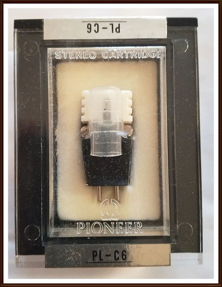 VINTAGE PIONEER  PL C6 STEREO CARTRIDGE and NEEDLE  #Pioneer