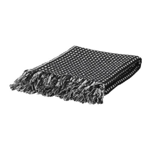 VILMIE RUND Throw IKEA Yarn-dyed; the colors are retained wash after wash. Reversible; contrasting sides for variation. $14.99