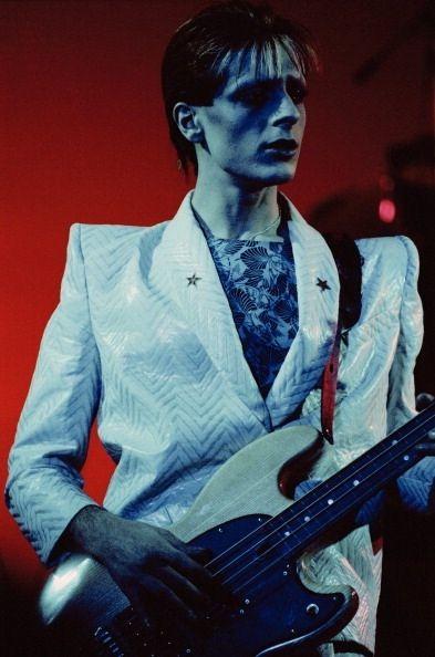 Mick Karn on bass. Japan.