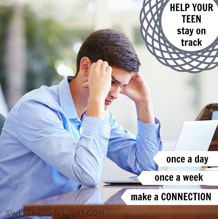 Helping your teen stay on track  | via Sweetness-n-Light @cheremere #highschool